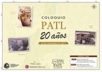 Colquio PATL 20 años (octubre 2011)