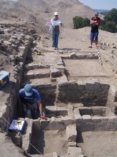 Trabajos arqueológicos 2009